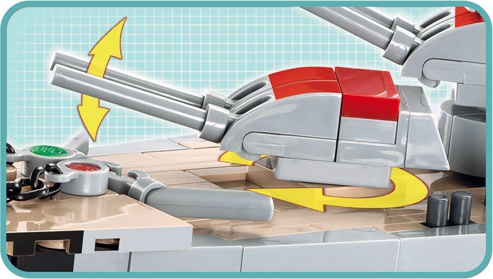 COBI Prince Eugen Heavy Cruiser Set (4823) battery