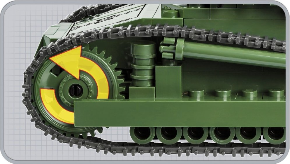 COBI Renault FT-17 Tank Tracks