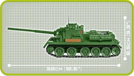COBI SU-100 Tank Destroyer (2541) Size