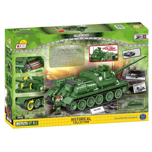 COBI SU-100 Tank Destroyer (2541) box
