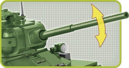 COBI T-34-85 Tank Set (2542) Cannon