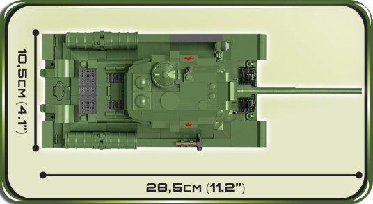 COBI T-34-85 Tank Set (2542) Length