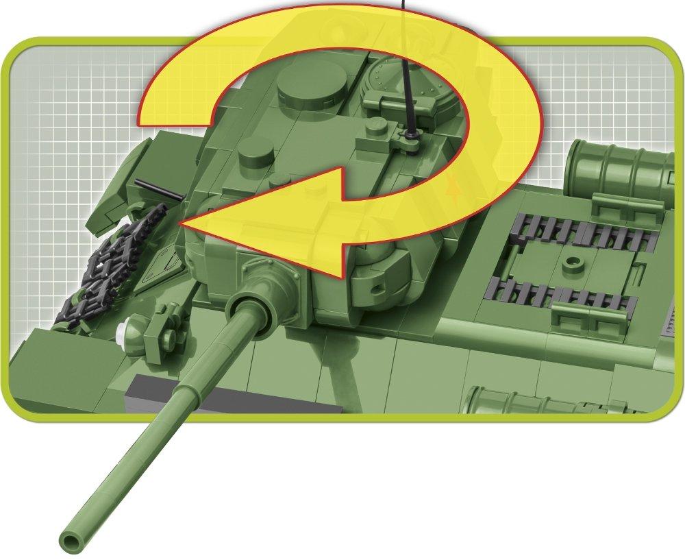 COBI T-34-85 Tank Set (2542) Turret