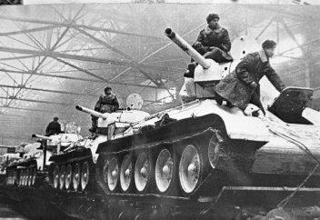 COBI T-34-85 Tank Set (2542) Winter
