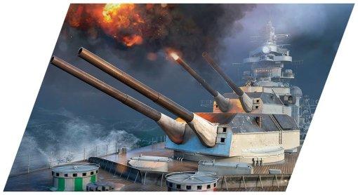 COBI Tirpitz Battleship Set (3085) Lego