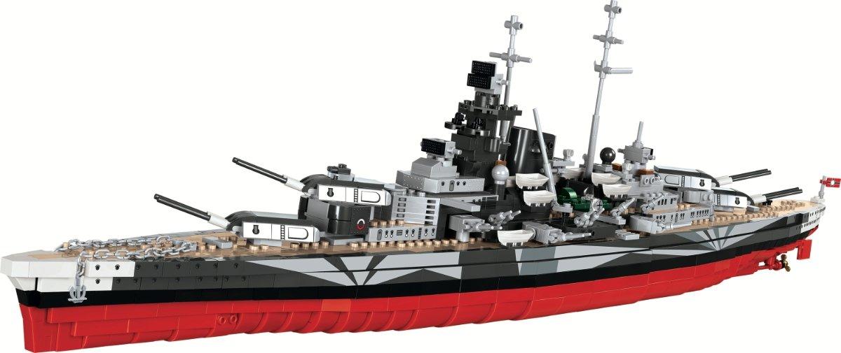 COBI Tirpitz Battleship Set (3085) review