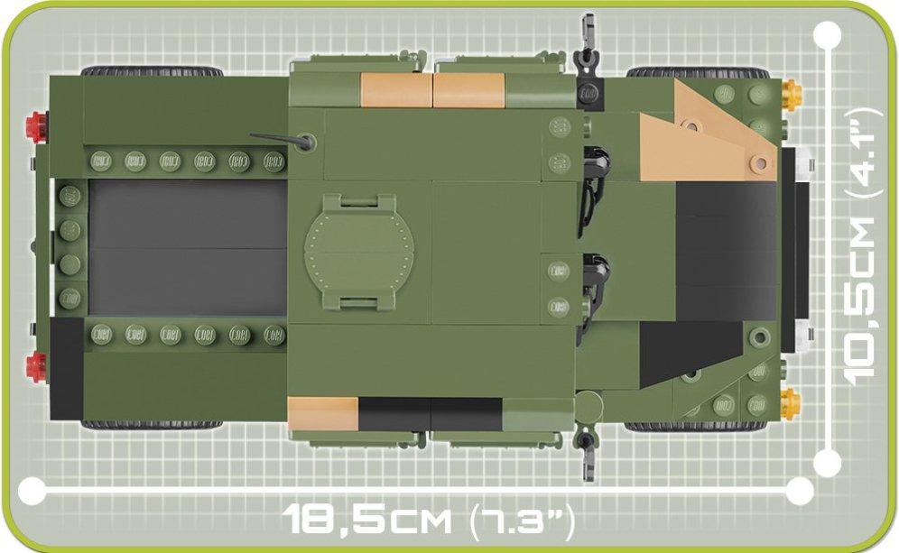 COBI US & NATO VEHICLES JUNGLE (24304) SET top