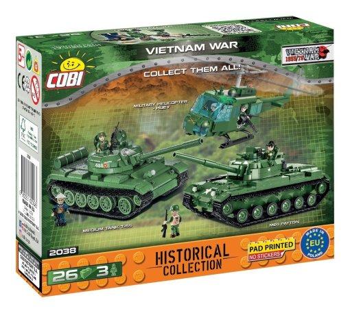COBI Vietnam War Figures Set (2038) USA