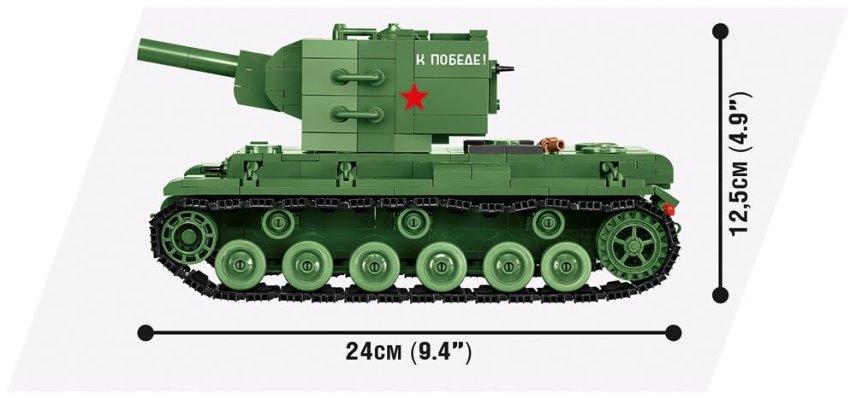 COBI WOT KV-2 Set (3039) Size