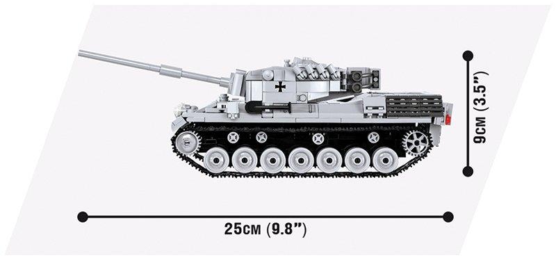 COBI WOT Leopard Set (3037) size