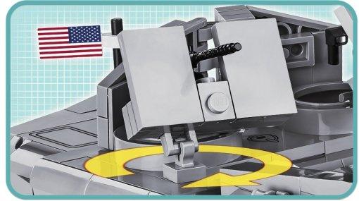 COBI WS D-DAY-LCVP Set (4813) Guns