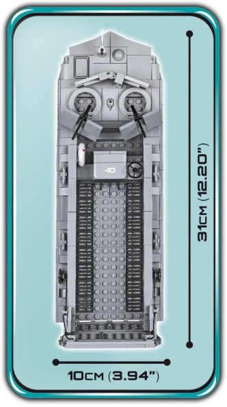 COBI WS D-DAY-LCVP Set (4813) Length