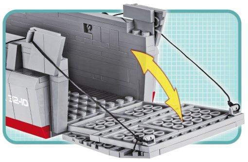 COBI WS D-DAY-LCVP Set (4813) Ramp