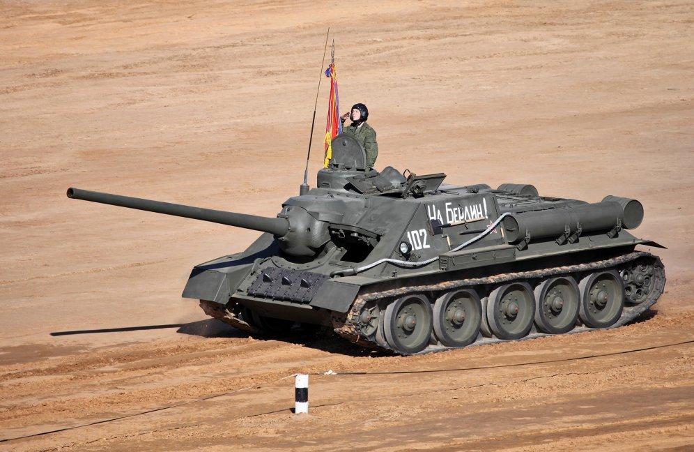 SovietSU-100 Tank Destroyer