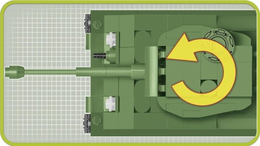 COBI 148 M4A3E8 Sherman (2705) turrret
