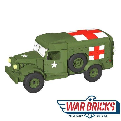 COBI Dodge WC54 Ambulance (2549)