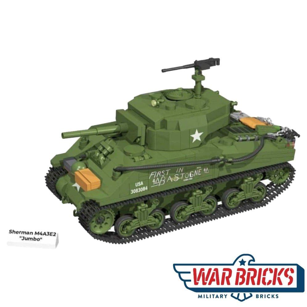 COBI Sherman M4A3E2 Jumbo Set (2550)