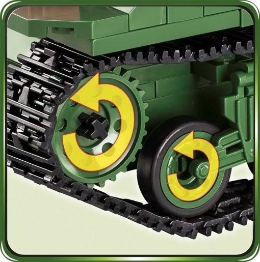 COBI Sherman M4A3E2 Jumbo tracks