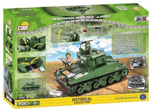 COBI Sherman M4A3E2 Jumbo