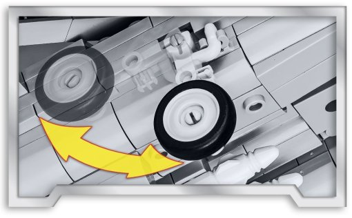 COBI Top Gun F-14 Tomcat Set (5811) Landing gear