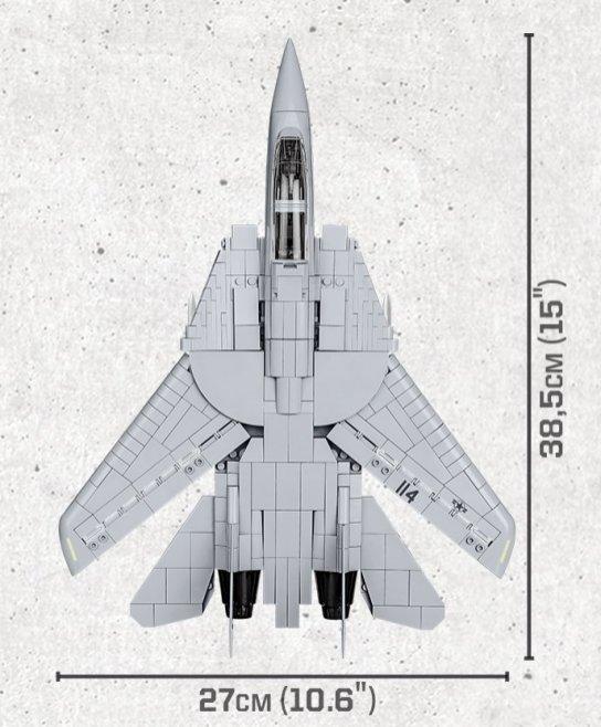 COBI Top Gun F-14 Tomcat Set (5811) Size