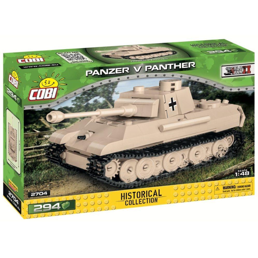 The COBI 148 Panzer V Panther (2704)
