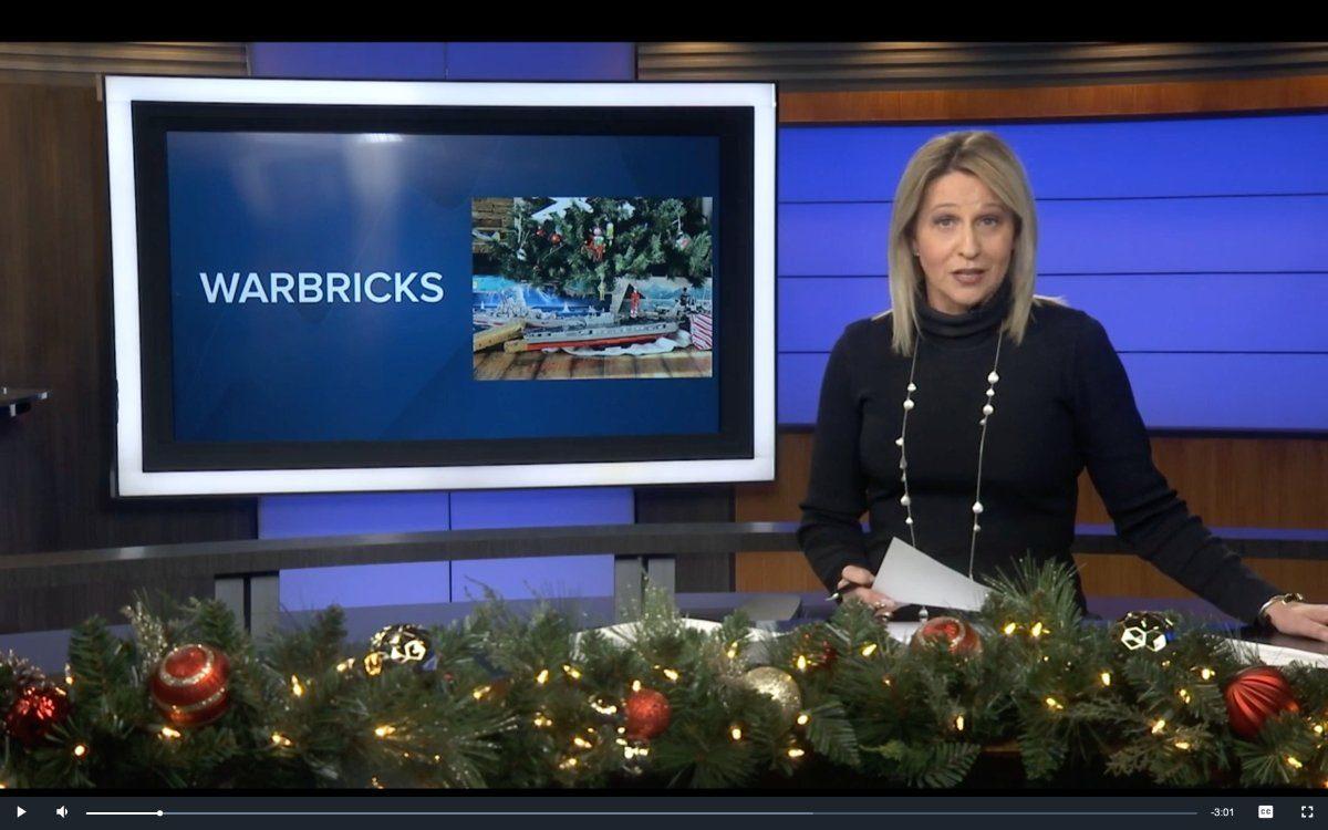 Warbricks Team Featured on the News!