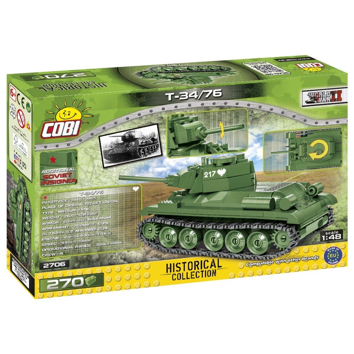 COBI 148 T-34 76 Set (2706) Amazon