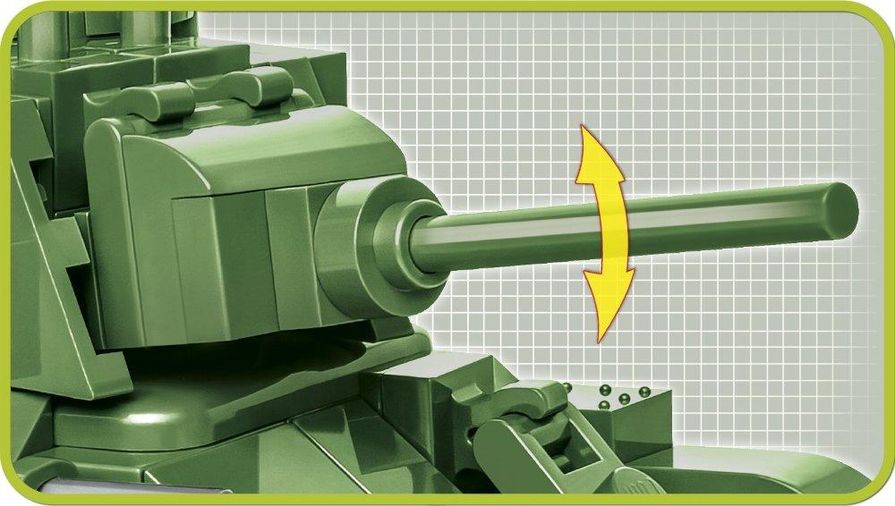 COBI 148 T-34 76 Set (2706) Gun