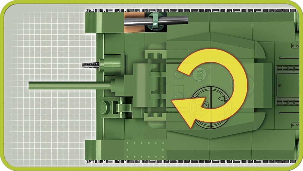 COBI 148 T-34 76 Set (2706) Turret