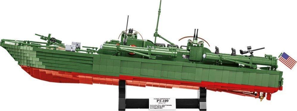 COBI PT-109 Torpedo Boat Set (4824) Amazon
