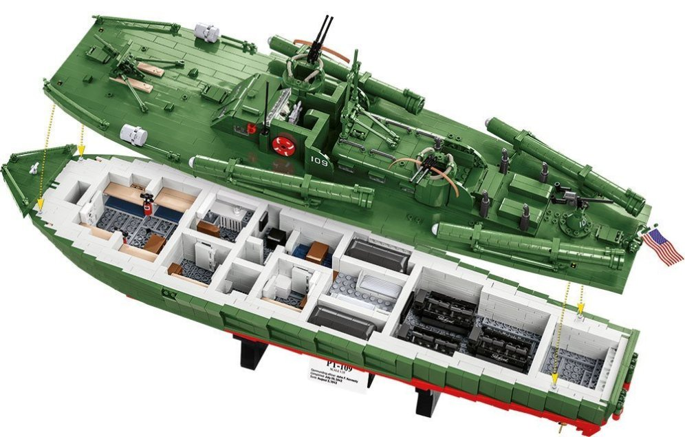 COBI PT-109 Torpedo Boat Set (4824) review