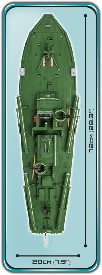 COBI PT109 length