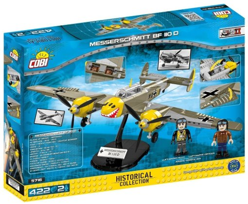COBI Messerschmitt BF110 D (5716) Box