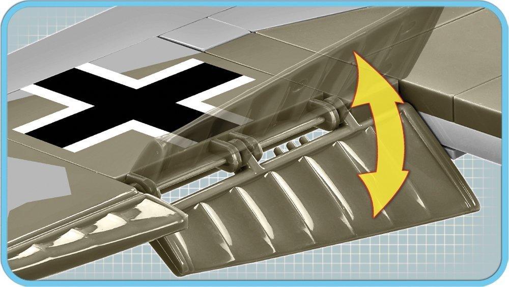 COBI Messerschmitt BF110 D (5716) Flaps