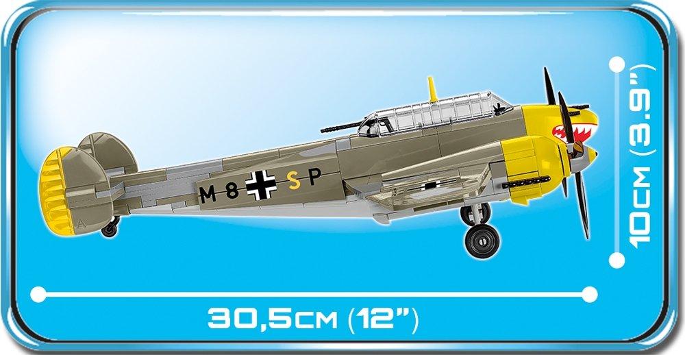 COBI Messerschmitt BF110 D (5716) Length