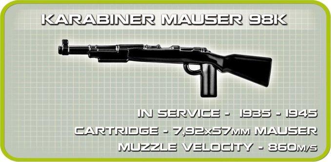 COBI FLAKPANZER IV WIRBELWIND SET (2548) figure gun