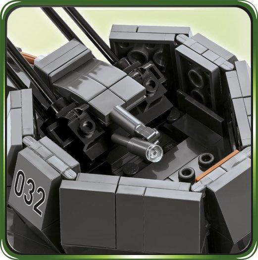 COBI FLAKPANZER IV WIRBELWIND SET (2548) gun