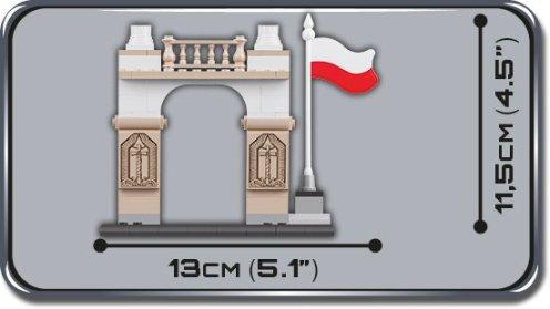 COBI WWI Polish Independence Set (2980) Size