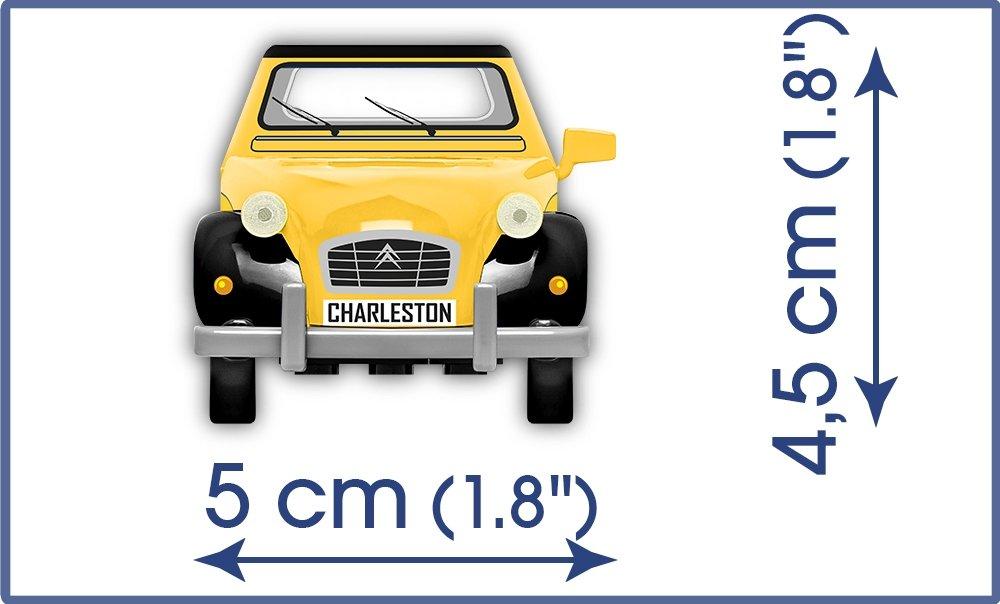 COBI Citroen 2VC Charleston Size