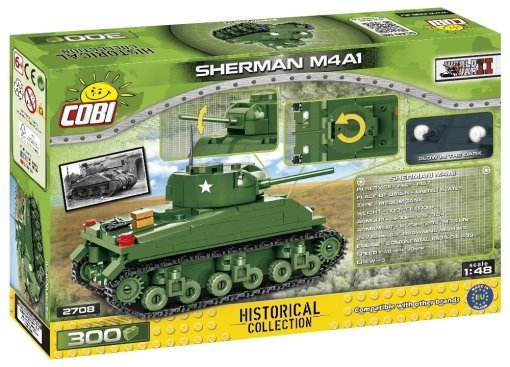 COBI Sherman M4A1 1_48 Set (2708) Amazon