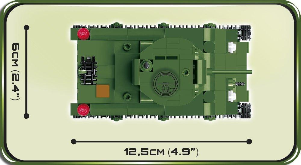 COBI Sherman M4A1 1_48 Set (2708) Size