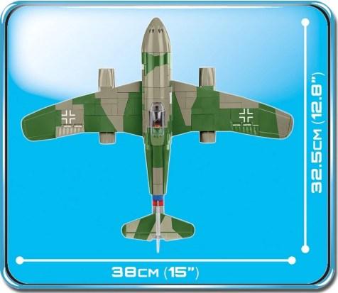 Cobi Me 262A 1a 1_32 Scale (5721) Size