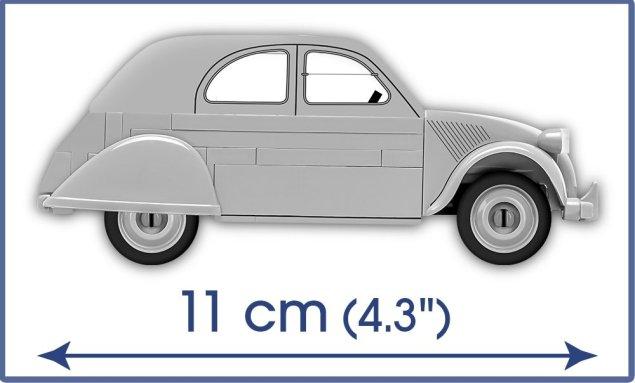 COBI Citroen 2VC Type A Set (24510) Size