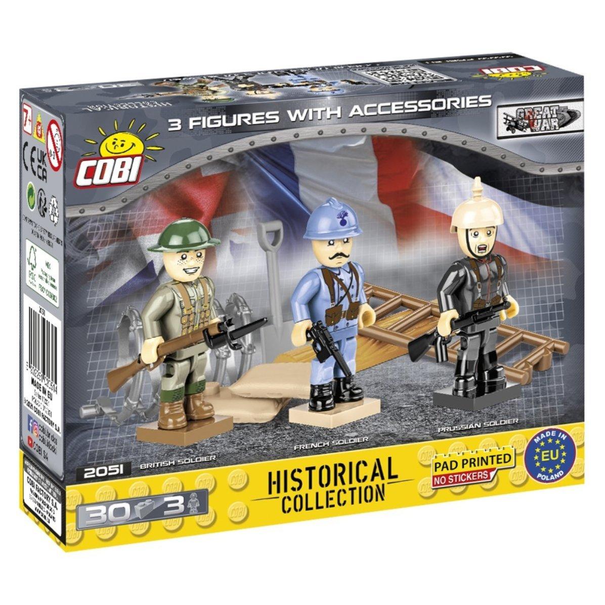 COBI Great War Figure Set(2051) Build Cobi
