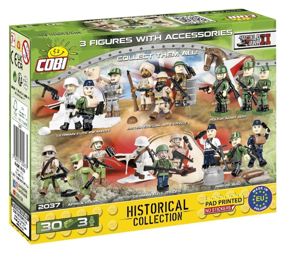 COBI French Armed Forces Figure Set (2037) Amazon