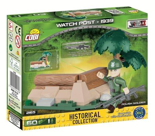 COBI WWII Watch Post Set (2169) build cobi