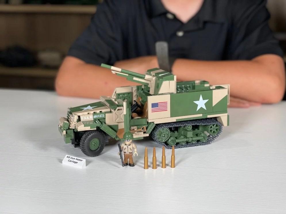 Shop In Stock Cobi Sets M3 gun Motor