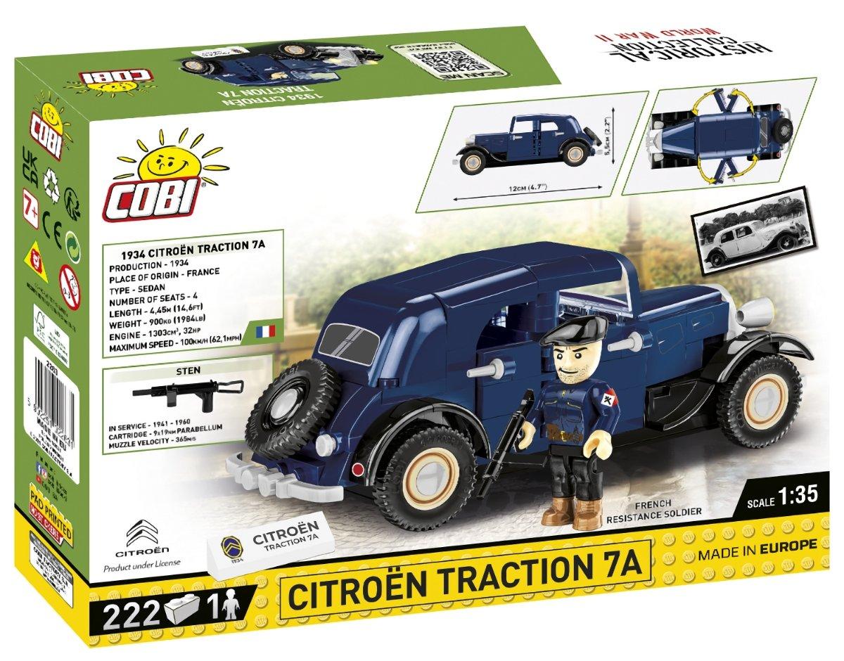 COBI 1934 Citroen Traction 7A (2263) USA