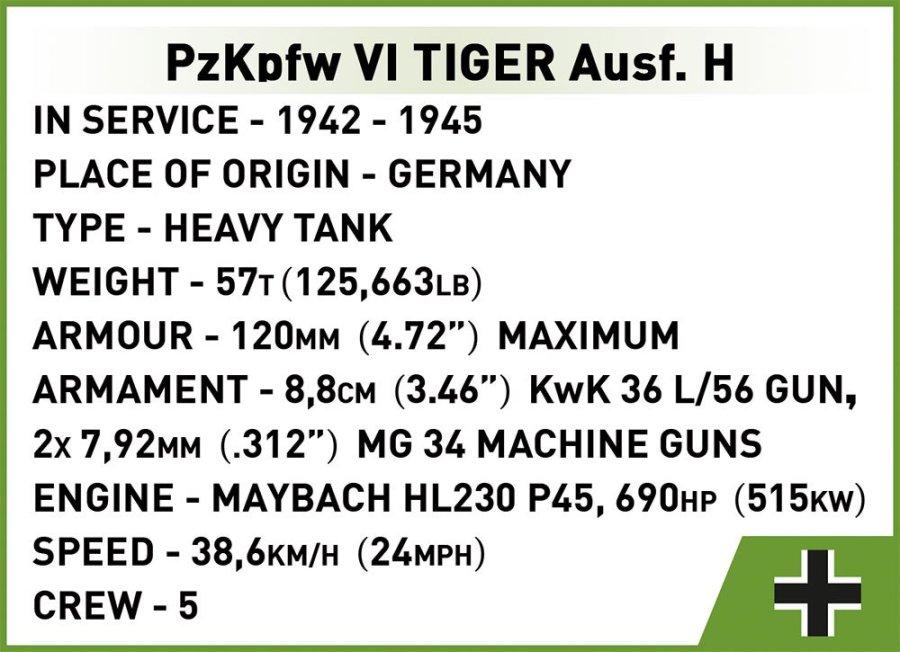 COBI VI Tiger 131 Set